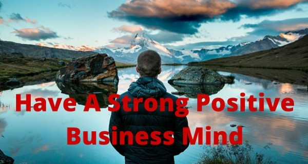 business succes, positive thinking, power of thought
