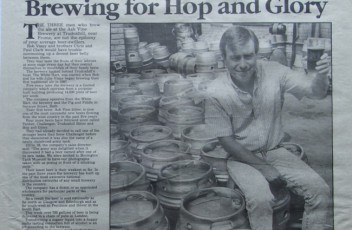 Robert Viney started Ash Vine Brewery in 1987