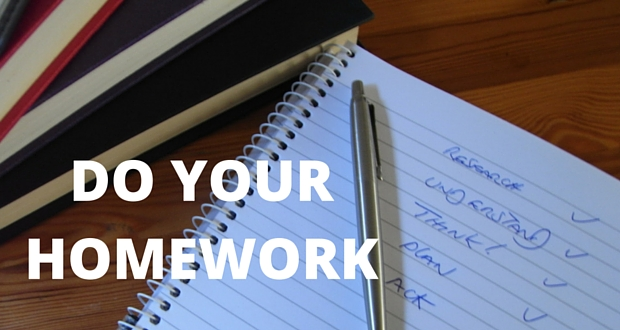 DO-YOUR-HOMEWORK Blog