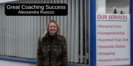 My Great Business Coaching Success For Prestige Business Coaching - Alessandra Ruocco Of Devoncair Ltd