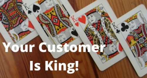 For business success, you need to think your Customer is King. This will give high business sales & high business profit for the entrepreneur