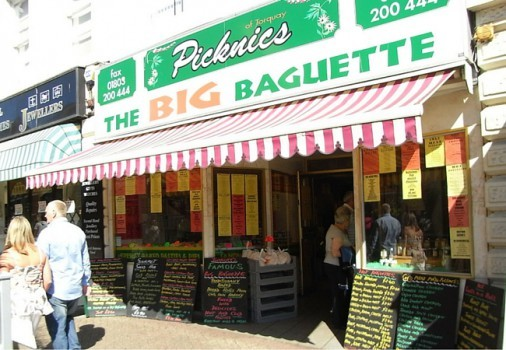 PICKNICS OF DEVON, TORQUAY SHOP