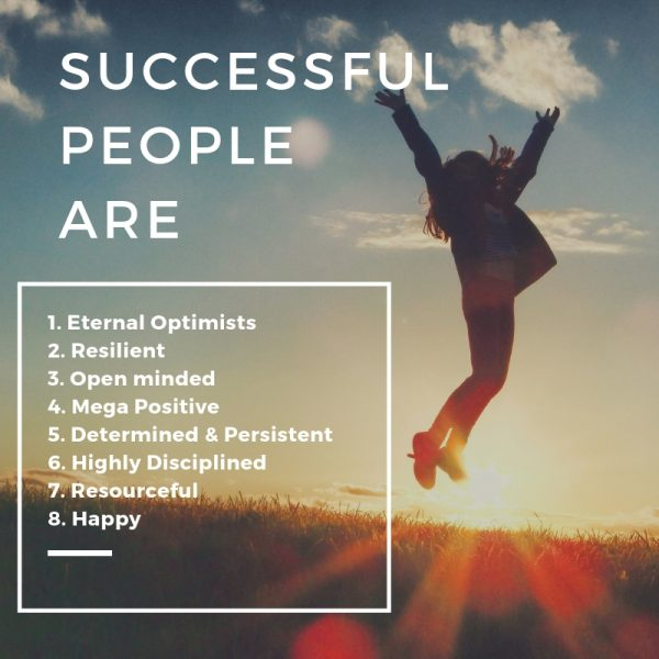8 Qualities Of The Success Mindsets Of The Most Successful in Business